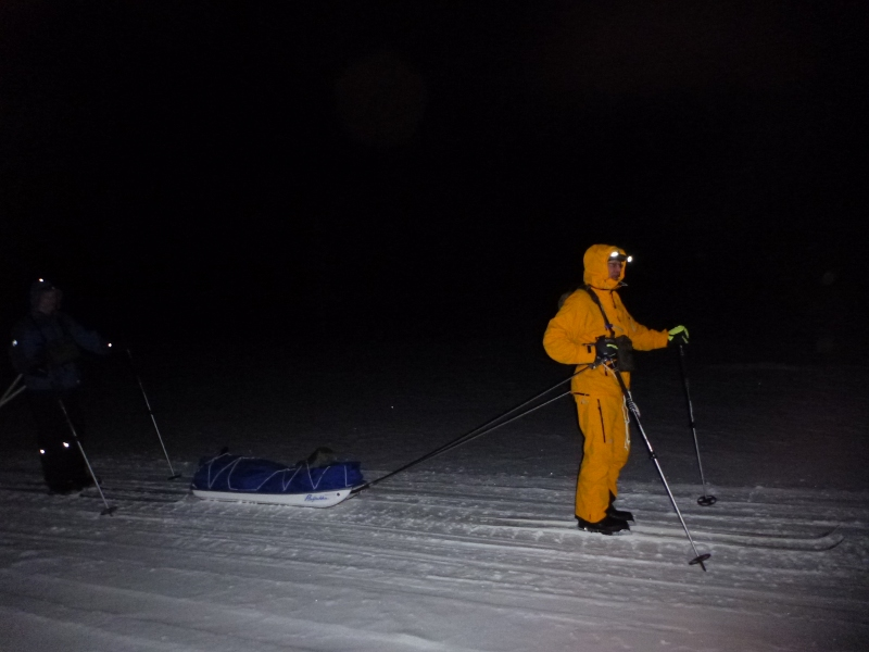 2pv yö hiihto